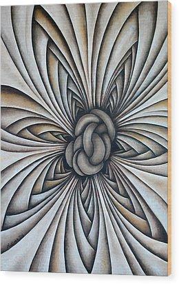 Layers Clxxxvii Wood Print