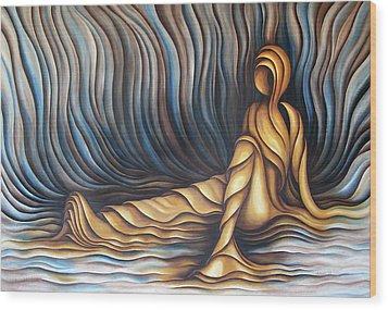 Layers Cxl Wood Print