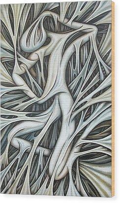 Layers Cxx Wood Print
