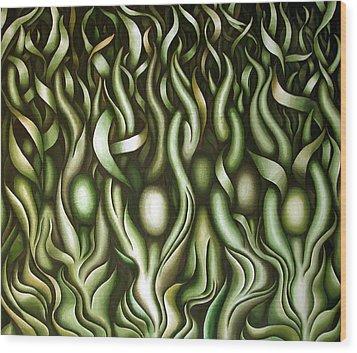 Layers Lix Wood Print