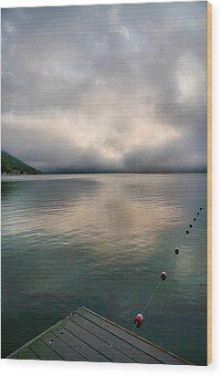 Leading Edge I Wood Print by Steven Ainsworth