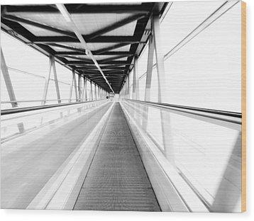 Leading Lines Wood Print