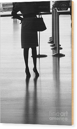 Leaving On A Jet Plane Wood Print by Rene Triay Photography