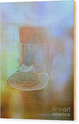 Left Behind Wood Print by Fania Simon