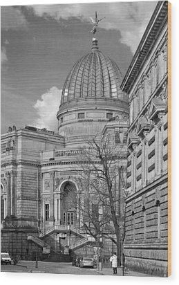 Lemon Squeezer - Academy Of Fine Arts Dresden Wood Print by Christine Till