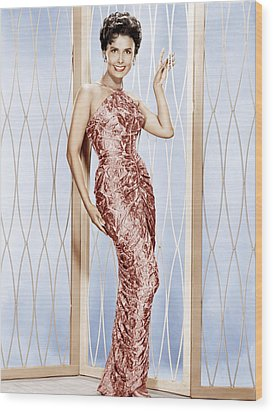 Lena Horne, Ca. 1950s Wood Print by Everett