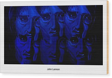 Lennon's World Wood Print by Mark Moore