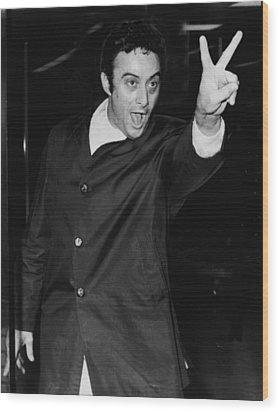 Lenny Bruce 1925-1966 Social Critic Wood Print by Everett