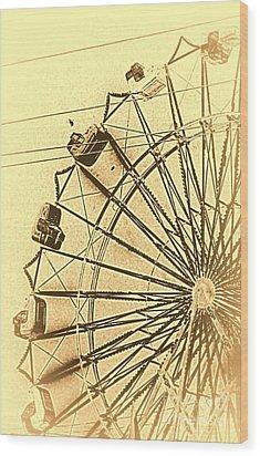 Leonardos Other Sketchbook Wood Print by Joe Jake Pratt