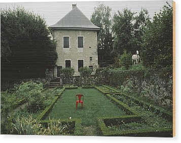 Les Charmettes, Home Of Philosopher Wood Print by James L. Stanfield