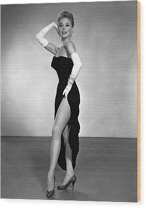 Les Girls, Mitzi Gaynor, 1957 Wood Print by Everett