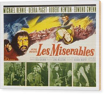 Les Miserables, Michael Rennie, Debra Wood Print by Everett