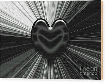 Let Love Shine Wood Print by J Jaiam