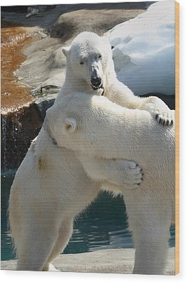 Let Me Whisper In Your Ear Wood Print by Cindy Haggerty