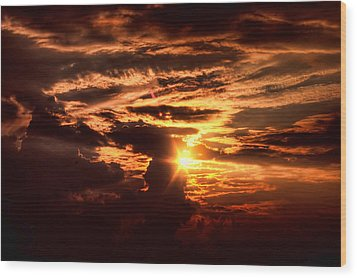 Wood Print featuring the photograph Let There Be Light by Joetta West