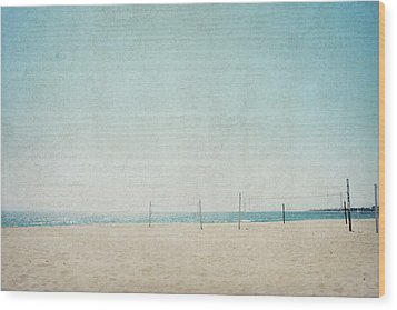 Wood Print featuring the photograph Letters From The Beach by Lisa Parrish