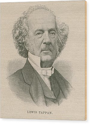 Lewis Tappan 1788-1873, Wealthy Wood Print by Everett