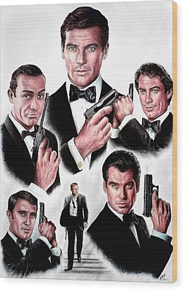 Licence To Kill  Digital Wood Print by Andrew Read