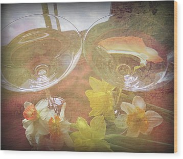 Wood Print featuring the photograph Life's Simple Pleasures by Kay Novy