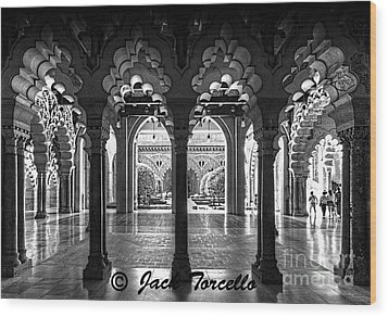 Wood Print featuring the photograph Light And Symmetry by Jack Torcello