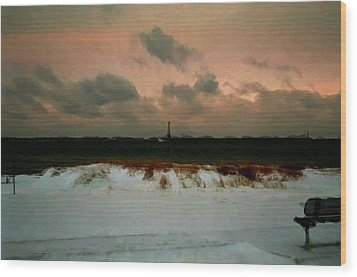 Lighthouse Beach  Wood Print by Ritter Photography And Fine Art Images