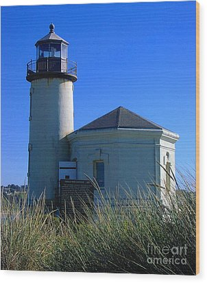 Lighthouse Wood Print by Rory Sagner