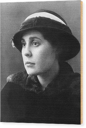 Lili Brik, 1914 Wood Print by Everett