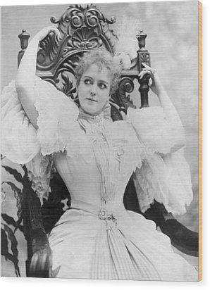 Lillian Russell 1861-1922, Popular Wood Print by Everett