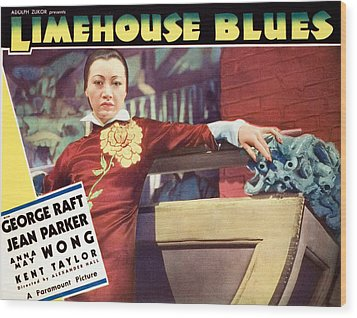 Limehouse Blues, Anna May Wong, 1934 Wood Print by Everett
