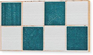 Limescale In Bathroom Wood Print by Tom Gowanlock