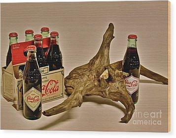 Limited Edition Coke Wood Print by Joe Finney