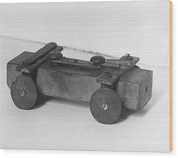 Lincoln Toy Wagon Wood Print by Granger