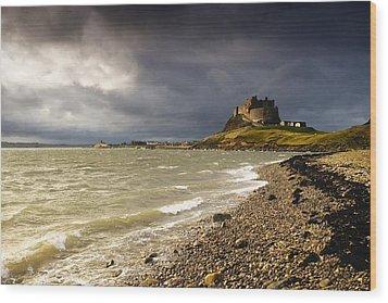 Lindisfarne Castle, Holy Island Wood Print by John Short