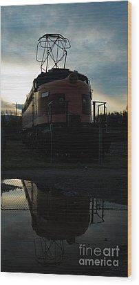 Littel Joe Reflections Wood Print by Tim Mulina