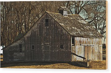 Little Activity Wood Print by Edward Peterson