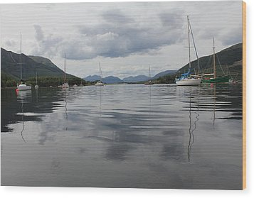 Loch Leven - Glencoe Wood Print by David Grant