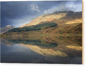 Loch Lobhair, Scotland Wood Print by John Short