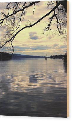 Loch Lommond Wood Print