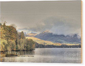Loch Lomond Wood Print by David Grant