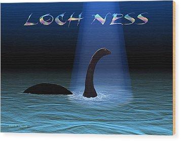 Loch Ness 1 Wood Print
