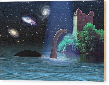 Loch Ness 2 Wood Print