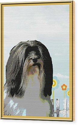 Lochen Wood Print by One Rude Dawg Orcutt
