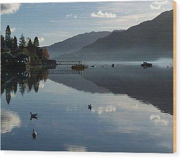 Wood Print featuring the photograph Lochgoilhead by Lynn Bolt
