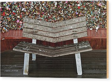 Wood Print featuring the photograph Locks Of Love 2 by Kume Bryant