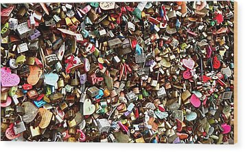 Wood Print featuring the photograph Locks Of Love by Kume Bryant