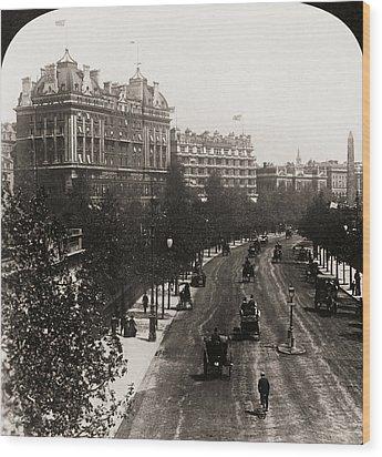 London: Embankment, 1908 Wood Print by Granger