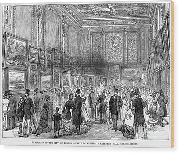 London: Exhibition, 1880 Wood Print by Granger