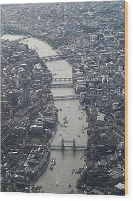 Londres, London Wood Print by Mono Andes