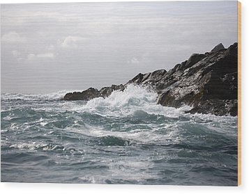 Lonely Cape St. James At Southern Point Wood Print by Pete Ryan