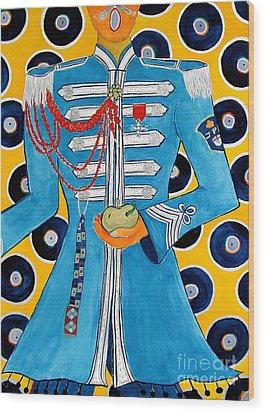 Lonely Hearts Club Member Paul Wood Print by Barbara Nolan